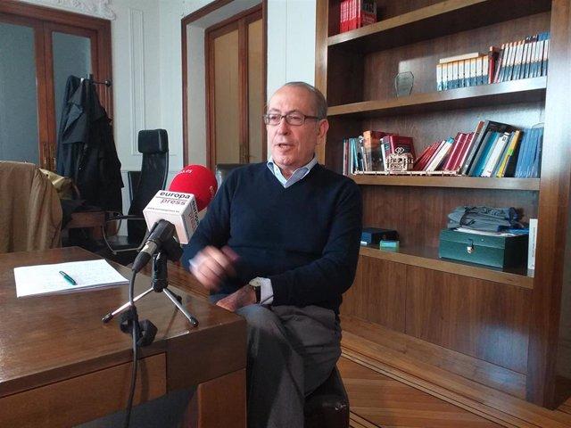 El exdirigente del PSE Nicolás Redondo, en una entrevista con Europa Press