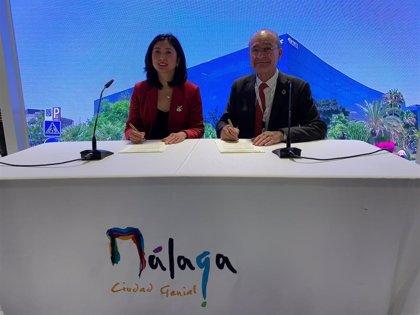 El mayor turoperador de China promocionará la oferta turística de Málaga capital en el país asiático