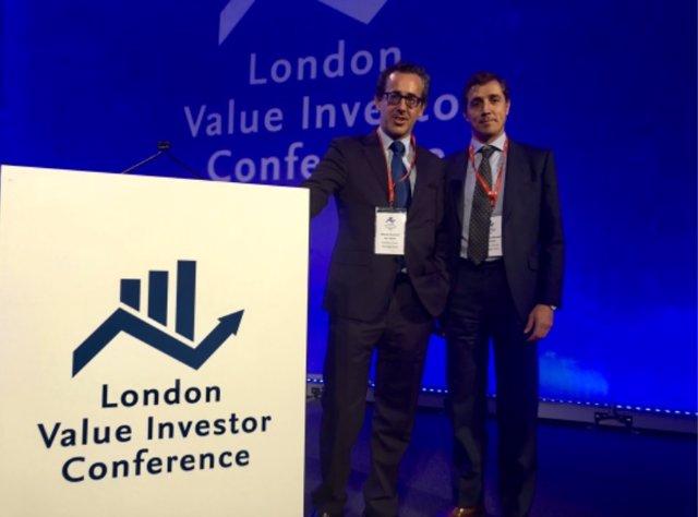 Álvaro Guzmán de Lázaro y Fernando Bernad en la séptima Edición de la London Value Investor Conference