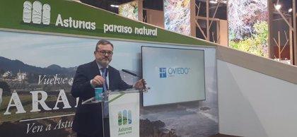 Oviedo presenta en Fitur su apuesta por el turismo gastronómico y congresual y la Semana Santa
