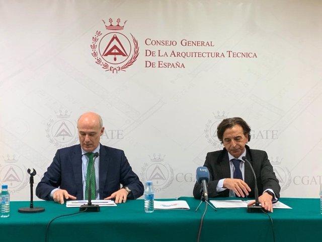 Presentaciónd el informe '¿Cómo decidimos la compra de una vivienda?' del Consejo General de la Arquitectura Técnica de España
