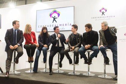 Jorge Lorenzo, Juan Diego, Natalia Verbeke y Manel Fuentes, juntos en Fitur para ensalzar Almería