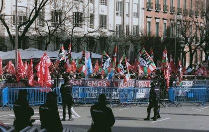 """Cientos de trabajadores reclaman en Madrid un futuro para la Industria: """"¿Dónde está el estatuto?"""""""