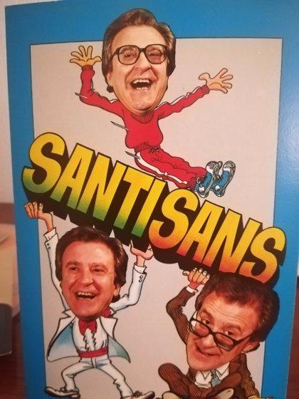 Muere el humorista y actor Santi Sans a los 86 años