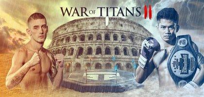 El Madrid Arena acoge a los mejores luchadores del mundo en el War of Titans II el 14 de marzo