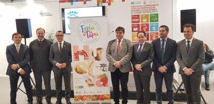El Ayuntamiento de Huelva y Bareca presentan en Fitur 'Huelva te como', la próxima edición de la Feria de la Tapa