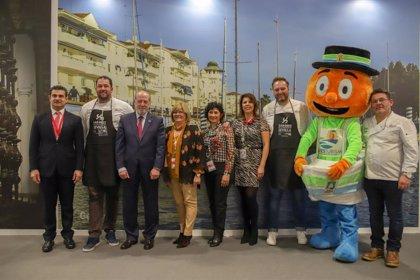 Cocina en directo en Fitur para divulgar la gastronomía de la provincia de Sevilla de la mano de Gelves