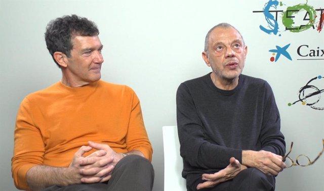 Entrevista a Antonio Banderas i Lluís Pasqual.