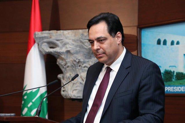 El primer ministre del Líban, Hassan Diab.