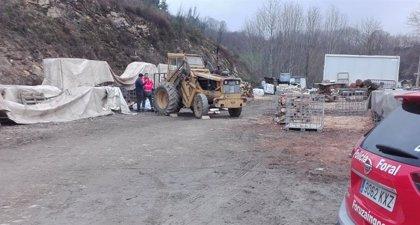 Un fallecido en un accidente laboral mientras trabajaba con un camión pala en Sunbilla