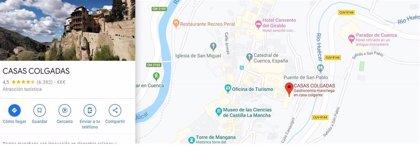 Google Maps corrige el nombre de 'Casas Colgantes' por 'Casas Colgadas'
