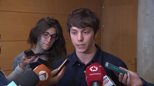 Imagen de archivo del diputado regional y senador de Más Madrid, Eduardo Fernández Rubiño.