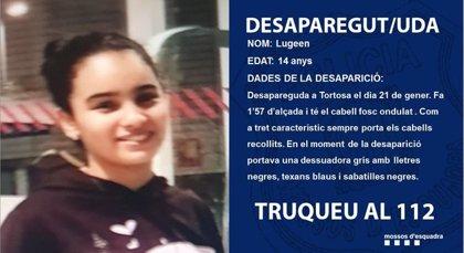 Los Mossos buscan a una chica de 14 años desaparecida en Tortosa (Tarragona)