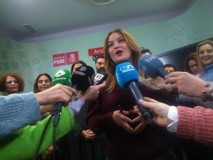 """Verónica Pérez ve """"absolutamente anecdóticas"""" las dimisiones y descarta """"una crisis"""" en el PSOE de Sevilla"""