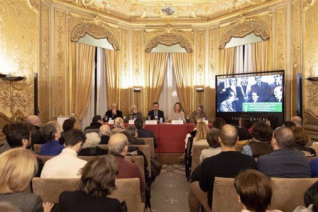 Celebración del Premio Hispanoamericano de Poesía Juan Ramón Jiménez