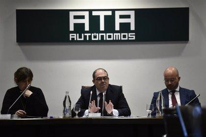 """Lorenzo Amor (ATA) cree que la subida del SMI a 950 euros es """"el daño menos malo"""" para los autónomos"""