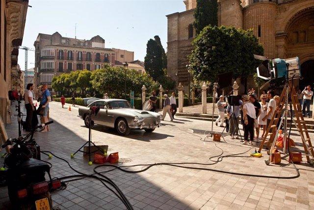 Imagen De Un Rodaje Organizado Por La Málaga Film Office
