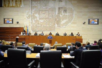Arranca en la Asamblea el debate de las 1.087 enmiendas parciales 'vivas' al Presupuesto de Extremadura para 2020