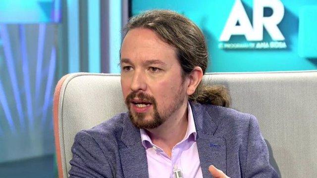 Entrevista al vicepresidente segundo del Gobierno y líder de Unidas Podemos, Pablo Iglesias