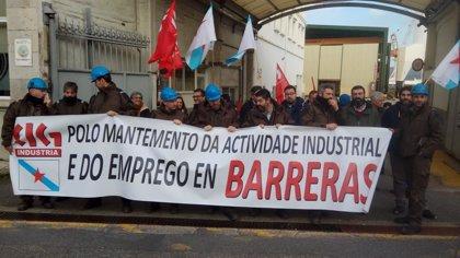 La CIG vuelve a concentrarse para pedir una solución para Barreras, a 10 días del fin del preconcurso