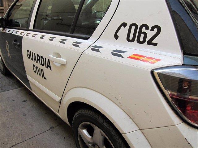 Imatge d'arxiu d'un vehicle de la Guàrdia Civil
