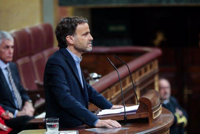 El portaveu parlamentari d'En Comú (ECP), Jaume Asens (arxiu)