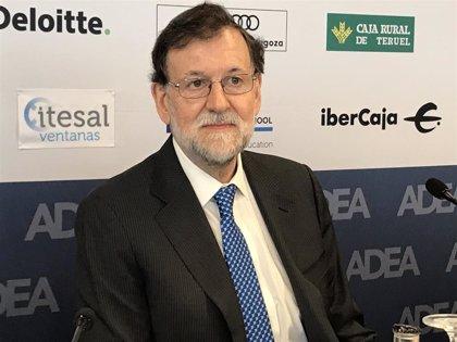 """Mariano Rajoy espera que """"el daño a España"""" del Gobierno de Sánchez """"no sea excesivo"""""""