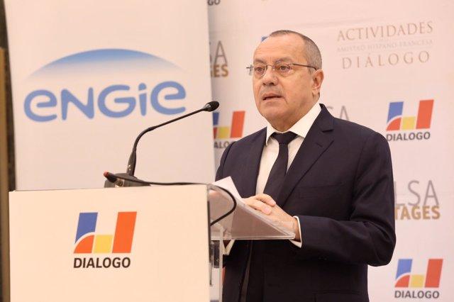 El embajador de Francia en España, Jean-Michel Casa, en un acto organizado por  la Asociación de Amistad Hispano-Francesa 'Diálogo'