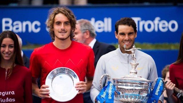 Tenis.- El 'Maestro' Stefanos Tsitsipas disputará el Barcelona Open Banc Sabadel