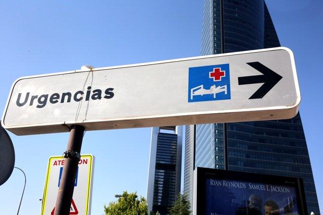 Hospital, hospitales, Urgencias de La Paz