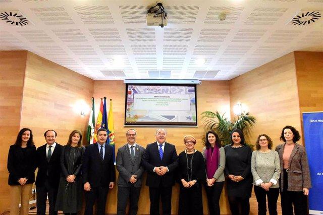 El alcalde de Algeciras, José Ignacio Landaluce, en la jornada 'De las Agendas Urbanas Internacionales a las nuevas Agendas Urbanas Locales. Los retos de las ciudades en el escenario 2030' celebrada en Algeciras