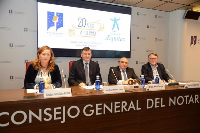 La Fundación Aequitas del Notariado recibe el premio CERMI en su 20º Aniversario
