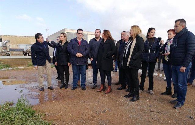 Almería.-Temporal.-Junta activa la comisión de desastres ante las más de 1.000 h