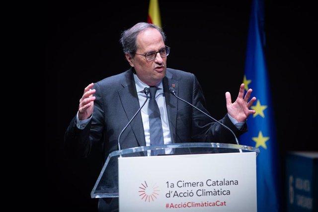 Cimera Catalana d'Acció Climàtica en Barcelona