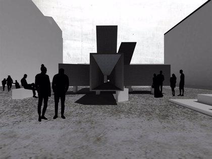 El pabellón de Concéntrico será una cristalografía de prismas, ganadora de la primera edición internacional