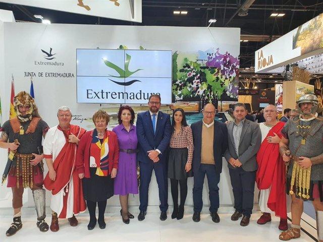 Presentación de la oferta turística de Mérida en Fitur 2020