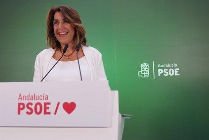 """Susana Díaz pide unidad a la militancia del PSOE-A para """"hacer frente a las derechas"""" y recuperar la Junta"""