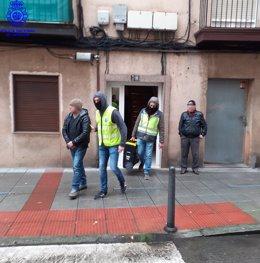 Detención de los responsables de un foco de venta de drogas en Santander