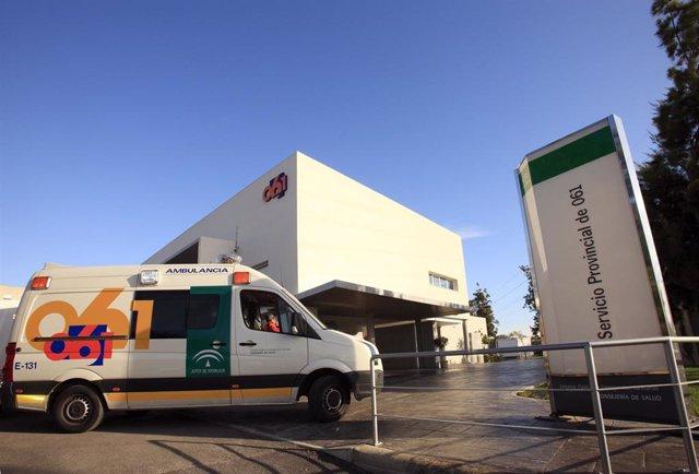 Sede del 061 en Cádiz