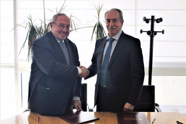 Firma acuerdo Cesgar y Cámara de España.