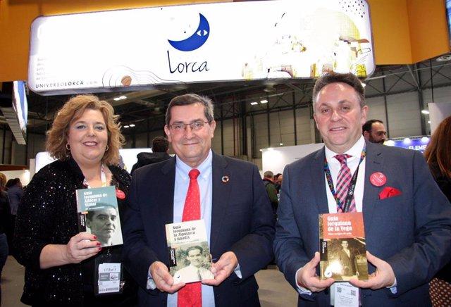 Fitur.- Diputación de Granada presenta las guías lorquianas de la Vega, la Alpuj