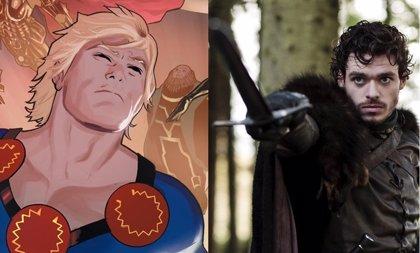 Primeras imágenes de Richard Madden como Ikaris en el rodaje de Los Eternos (The Eternals) de Marvel