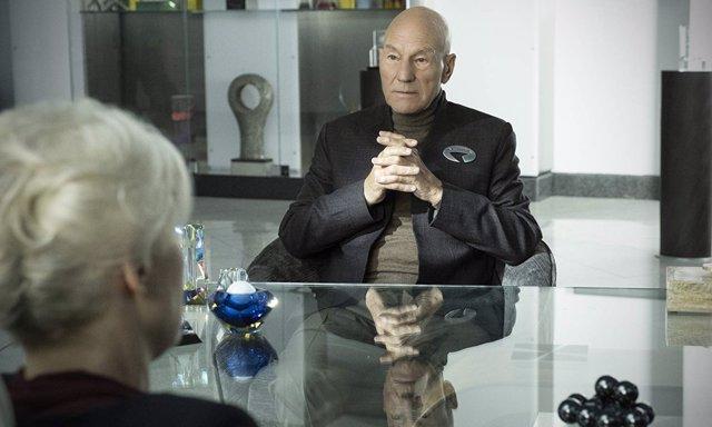 El capitán Picard vuelve a la acción en la nueva serie de Star Trek