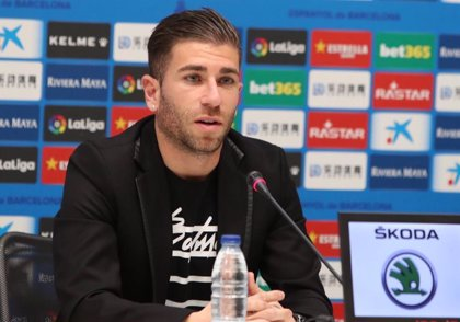 """Embarba: """"El Espanyol es un reto y un grandísimo paso en mi carrera"""""""