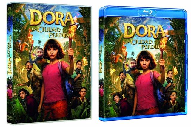 Lanzamiento en DVD y Blu-Ray de Dora la Exploradora