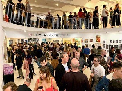 'Merkarte' genera la venta de 1.823 obras de arte y una recaudación superior a los 31.000 euros