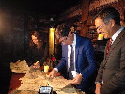 Cajasol.-Fitur.-Andalucía lleva al centro de Madrid un scape room sobre el V Centenario de la I Vuelta al Mundo