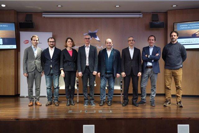 Jordi Oliver, Oriol Sans, Sandra González, Dror Etzion, Carles Ruiz, Carles Rivera, Josep-Miquel Torregrosa i Ricard Jornet.