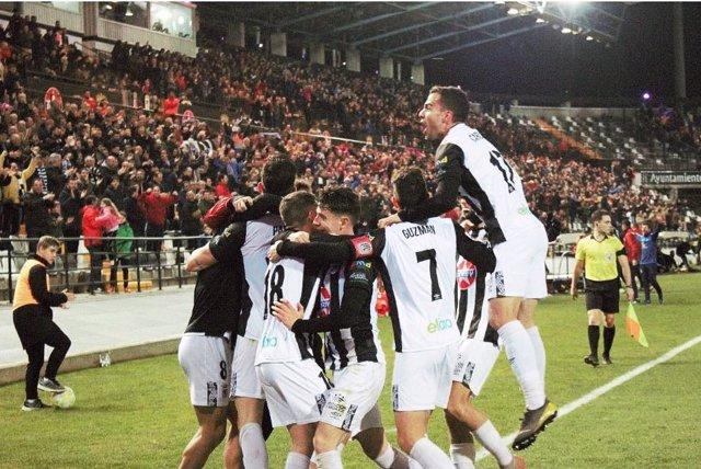 El CD Badajoz, revelación de la Copa del Rey