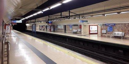 Restablecido el servicio de Metro entre las estaciones de Paco de Lucía y Colombia
